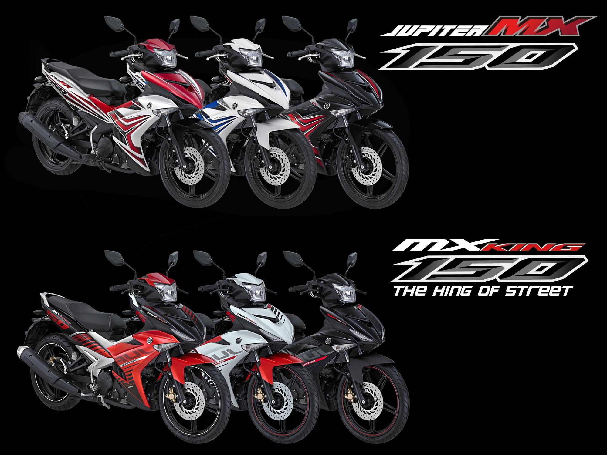 Yamaha Rilis Jupiter MX Dan MX KING Berikut Spesifikasi Harga